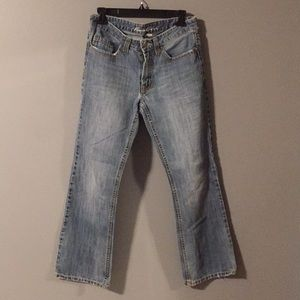 Kenneth Cole mans bootcut Jeans size 28/30